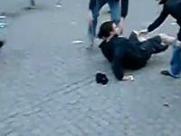 Brutalnośc niemieckiej policji.