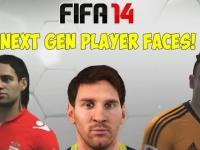 FIFA 14 - Next Gen Player Faces