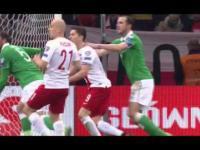Polska - Irlandia - Skrót Meczu 11.10.2015 Warszawa