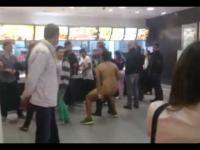Niecodzienny widok w McDonald