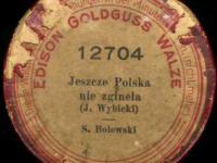 Hymn Polski z 1901 roku
