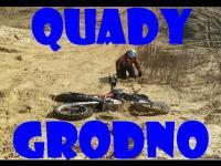 Quady Grodno. ||Zimowe zmagania|| 2015 ||onda trx 400||Kawasaki 700||onda crf