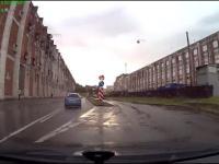 Tej kobiecie znaki drogowe są zupełnie obce