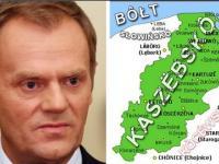 Tusk nadal chce oderwać Kaszuby od Polski?