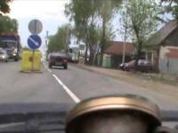 Rosja: Pościg za złodziejem samochodów