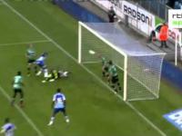 Skrót meczu piłkarskiego: La Gantoise - Cercle Bruges