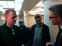 Grzegorz Braun odprawia z kwitkiem TVN