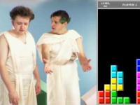 Bóg gra  w Tetrisa