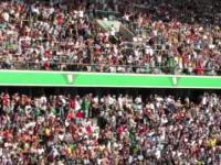 Meksykańska fala po raz pierwszy na nowym stadionie Legii!