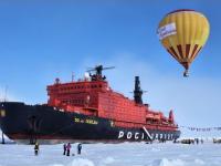 Wyprawa na biegun północny rosyjskim atomowym lodołamaczem