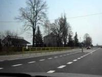Wysepki drogowe w Nowince