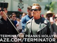 Arnold Schwarzenegger jako Terminator robi dowcipy fanom