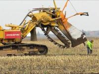 Moc ciągników: drenaż pola