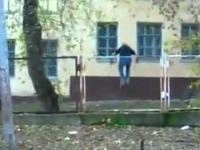 Tak się bawią dzieci w Rosji w zimie i jesień