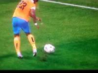 Arturo Vidal brutalnie sfaulowany w meczu z Realem Madryt