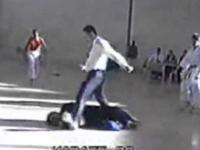 Sędzia znokautował zawodnika karate