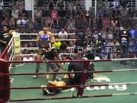 Tragiczny koniec walki Muay Thai