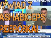 Wywiad z PashaBiceps w tvn24 Przeróbka!