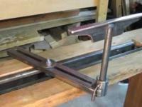 Budowa drewnianej tokarki do drewna z napędem nożnym