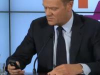 Tusk cytuje wulgarne SMS-y do córki (bez cenzury!)
