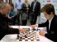 Bardzo szybka runda szachów