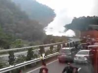 Eksplozja cysterny z gazem
