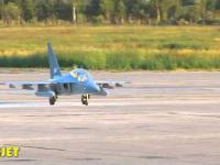 Latający model samolotu JAK-130 w skali 1:4