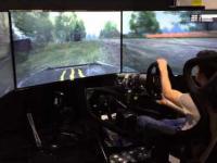 Nojowocześniejszy symulator rajdów samochodowych