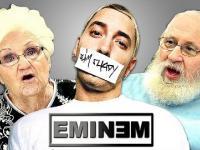Reakcja starszych ludzi na muzykę Eminema.