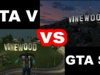 Porównanie GTA V z GTA San Andreas