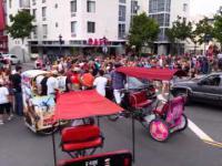 Wypadek podczas parady