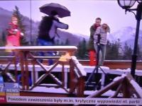 Wpadka podczas porannej audycji na antenie Polsat News.