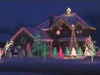 Światełkowy domek