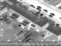 Świecenie laserem podczas imprezki w stronę policyjnego helikoptera