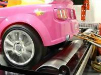 Test Samochodu Barbie