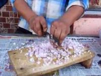 Krojenie cebuli, level: Indian
