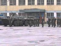 Rosyjskie wojsko daje popis swoich umiejętności