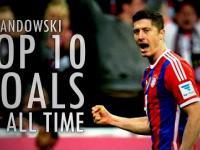 Najlepsze gole w karierze Roberta Lewandowskiego