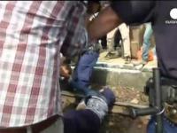 UWAGA: Wielka manipulacja mediów!!! Niezadowolony imigrant rzuca żonę i dziecko na