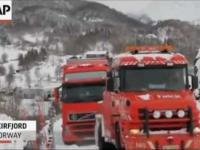 Niepowodzenie tira w Norwegi