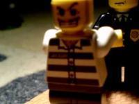 Więzień - Animacja Poklatkowa Z Klocków Lego