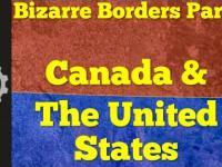 Dziwna granica między Kanadą i USA