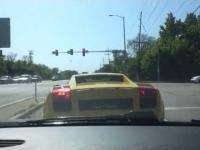 Wypadek Lamborghini w Chicago