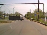 Ciężarówka bez hamulców