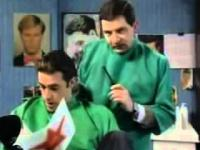 Jaś Fasola - U fryzjera