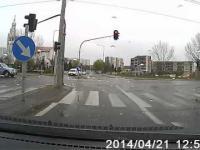 Drift w centrum miasta policyjnym L200 Białystok