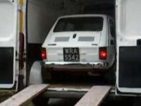 Kurier DHL dostarczył samochód