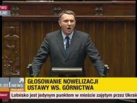 Przemysław Wipler ostro w sejmie! 16.01.2015