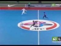 Zawodniczki z Iranu w futsalu
