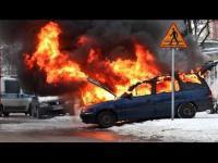 Wybuchy Pożary Eksplodujące auta